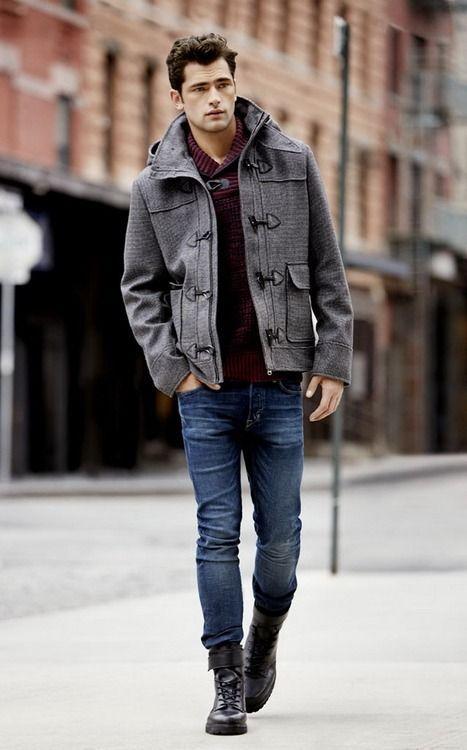 Button Wool Melton Jacket