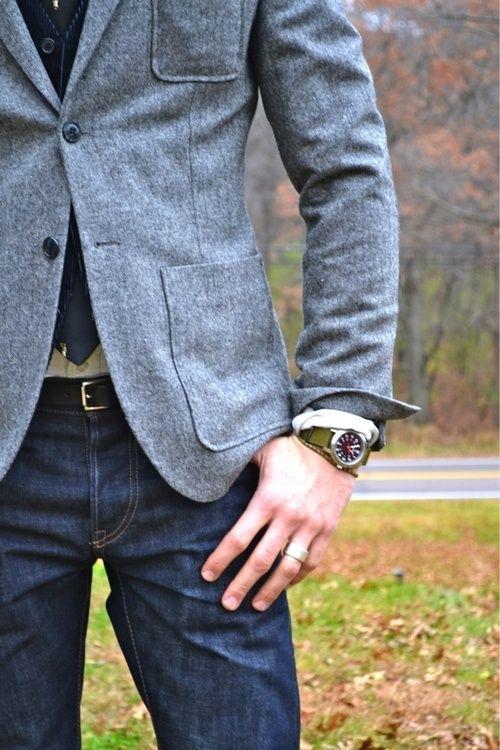 Casual Wool Jacket
